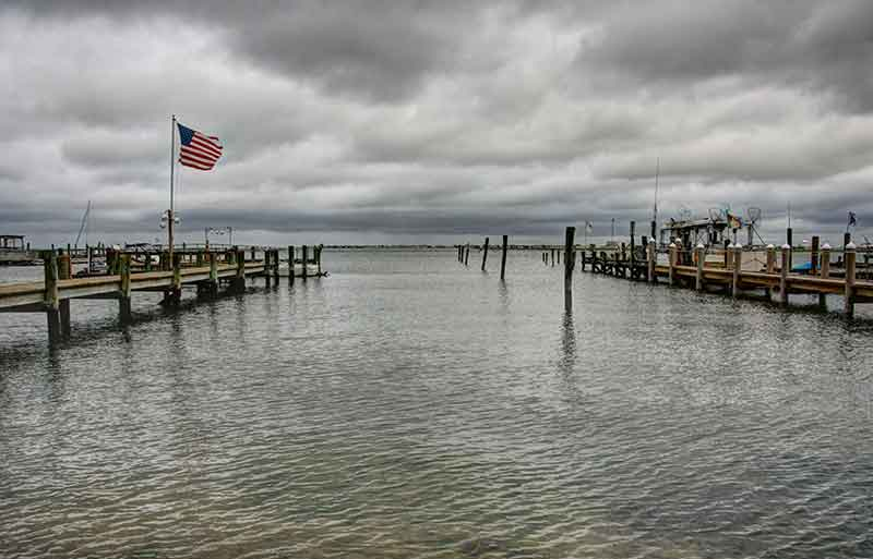Boat Slips on the bay in Somers Point, NJ >